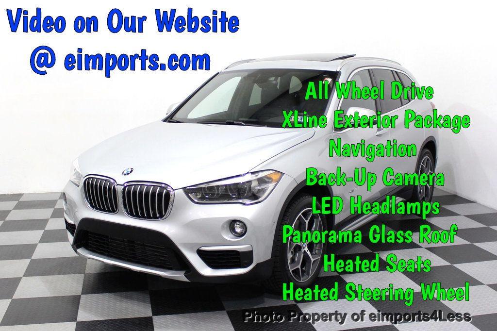 2016 BMW X1 CERTIFIED X1 xDRIVE28i AWD XLINE Driver Assist CAMERA NAVI - 18196763 - 0