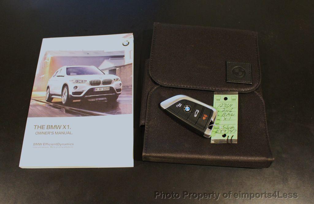 2016 BMW X1 CERTIFIED X1 xDRIVE28i AWD XLINE Driver Assist CAMERA NAVI - 18196763 - 41