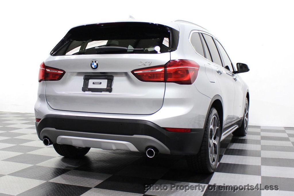 2016 BMW X1 CERTIFIED X1 xDRIVE28i AWD XLINE Driver Assist CAMERA NAVI - 18196763 - 48