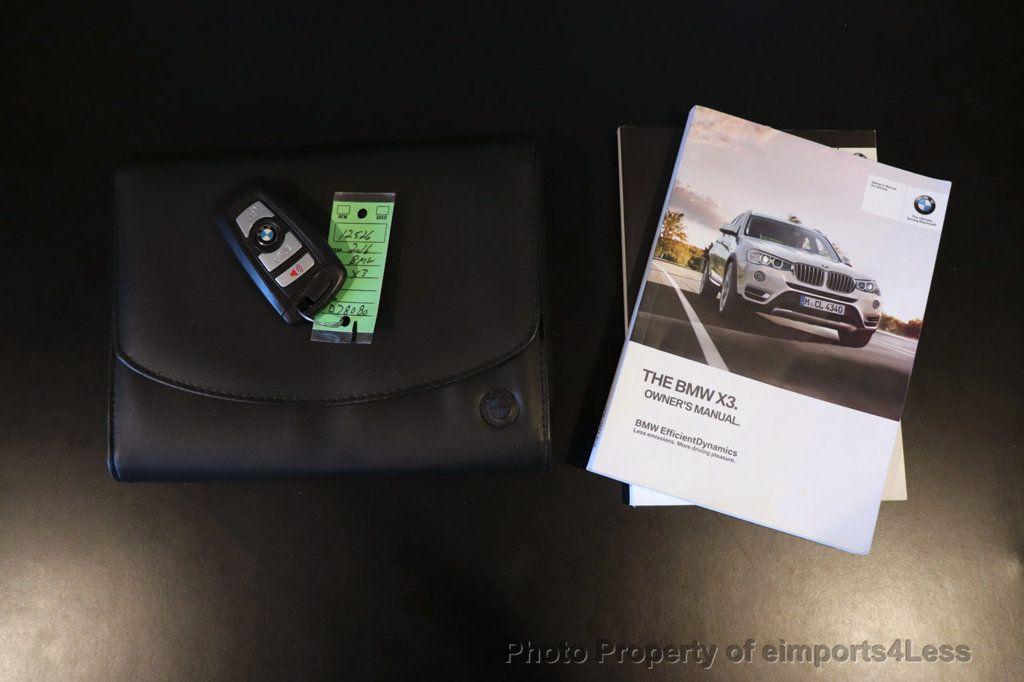 2016 BMW X3 CERTIFIED X3 xDrive28i AWD PREMIUM PANO NAV - 18518141 - 34