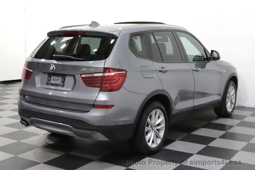2016 BMW X3 CERTIFIED X3 xDrive28i AWD PREMIUM PANO NAV - 18518141 - 39