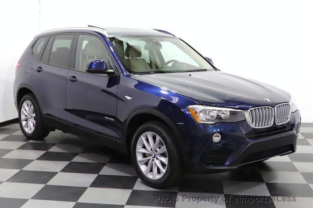 2016 BMW X3 CERTIFIED X3 xDrive28i AWD TECH HUD BLIND SPOT CAM NAV - 18518146 - 1