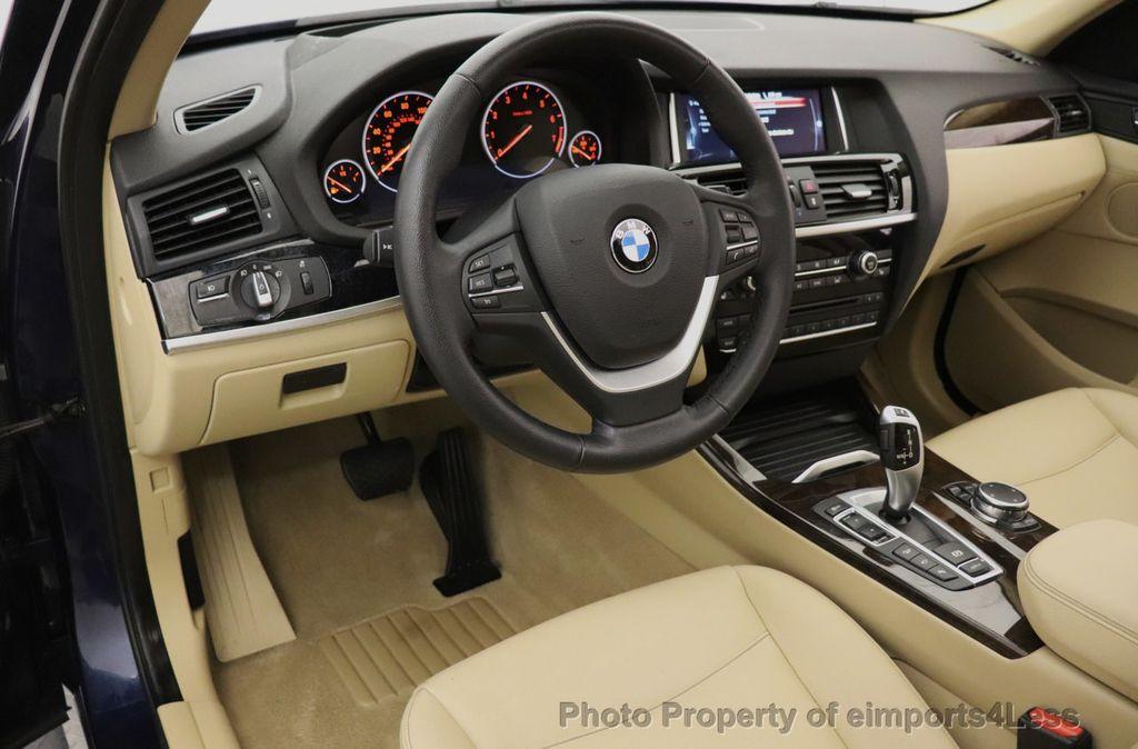 2016 BMW X3 CERTIFIED X3 xDrive28i AWD TECH HUD BLIND SPOT CAM NAV - 18518146 - 34