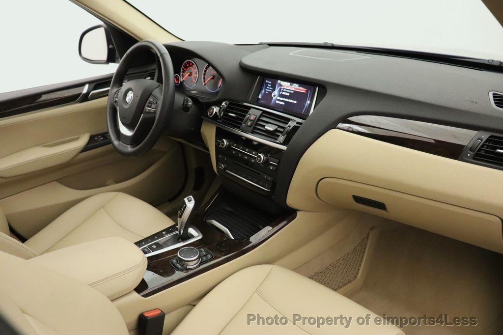 2016 BMW X3 CERTIFIED X3 xDrive28i AWD TECH HUD BLIND SPOT CAM NAV - 18518146 - 36