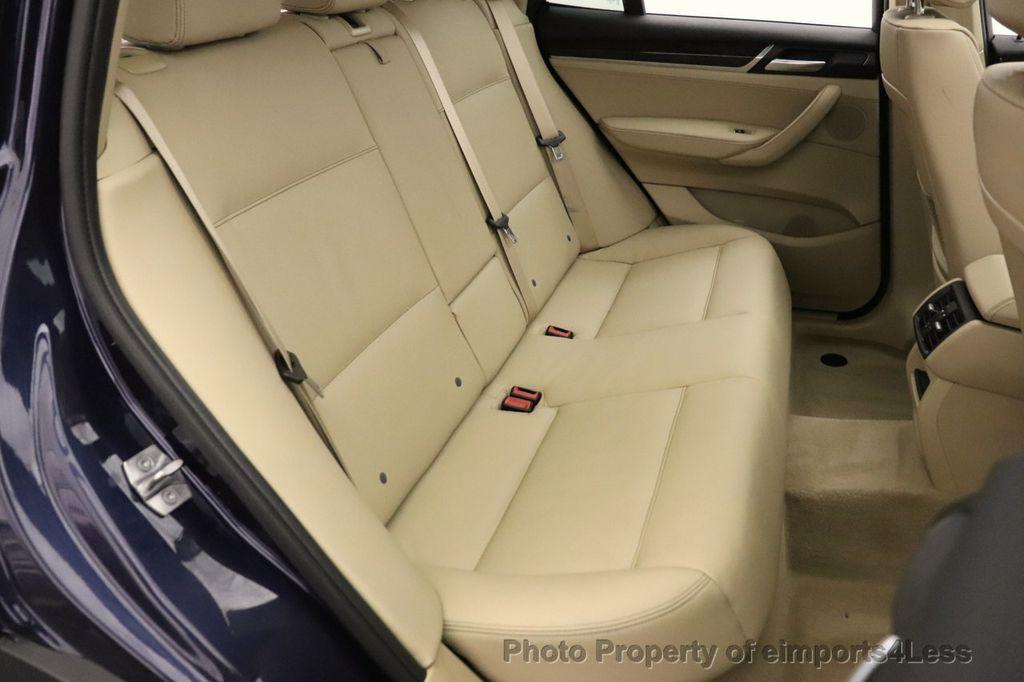 2016 BMW X3 CERTIFIED X3 xDrive28i AWD TECH HUD BLIND SPOT CAM NAV - 18518146 - 38