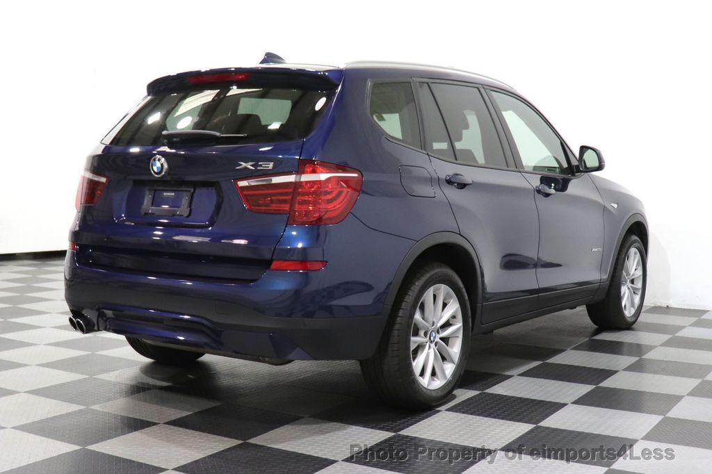 2016 BMW X3 CERTIFIED X3 xDrive28i AWD TECH HUD BLIND SPOT CAM NAV - 18518146 - 3