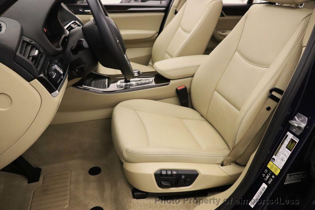 2016 BMW X3 CERTIFIED X3 xDrive28i AWD TECH HUD BLIND SPOT CAM NAV - 18518146 - 39
