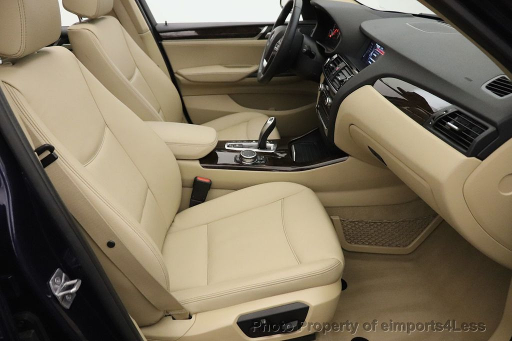 2016 BMW X3 CERTIFIED X3 xDrive28i AWD TECH HUD BLIND SPOT CAM NAV - 18518146 - 40
