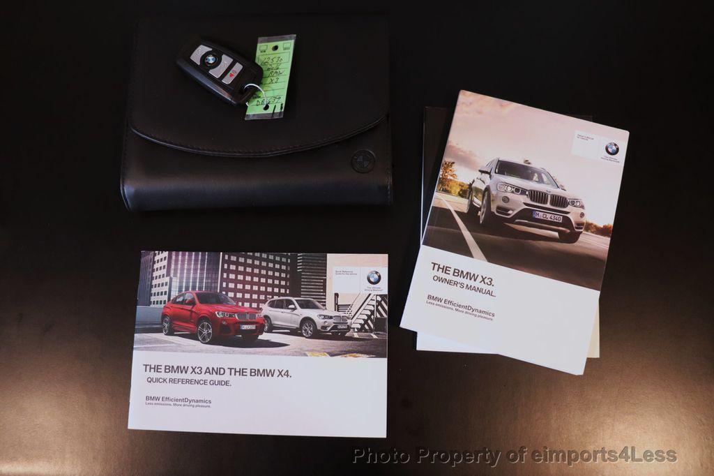 2016 BMW X3 CERTIFIED X3 xDrive28i AWD TECH HUD BLIND SPOT CAM NAV - 18518146 - 41