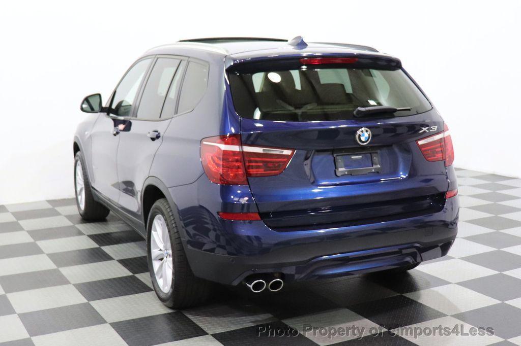 2016 BMW X3 CERTIFIED X3 xDrive28i AWD TECH HUD BLIND SPOT CAM NAV - 18518146 - 48