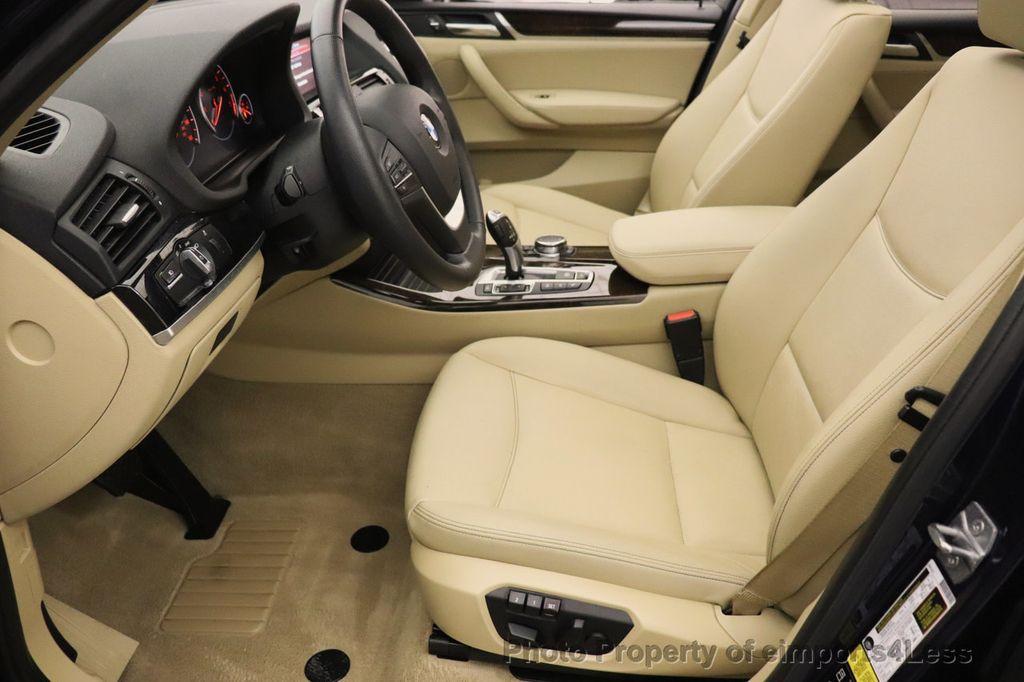 2016 BMW X3 CERTIFIED X3 xDrive28i AWD TECH HUD BLIND SPOT CAM NAV - 18518146 - 50