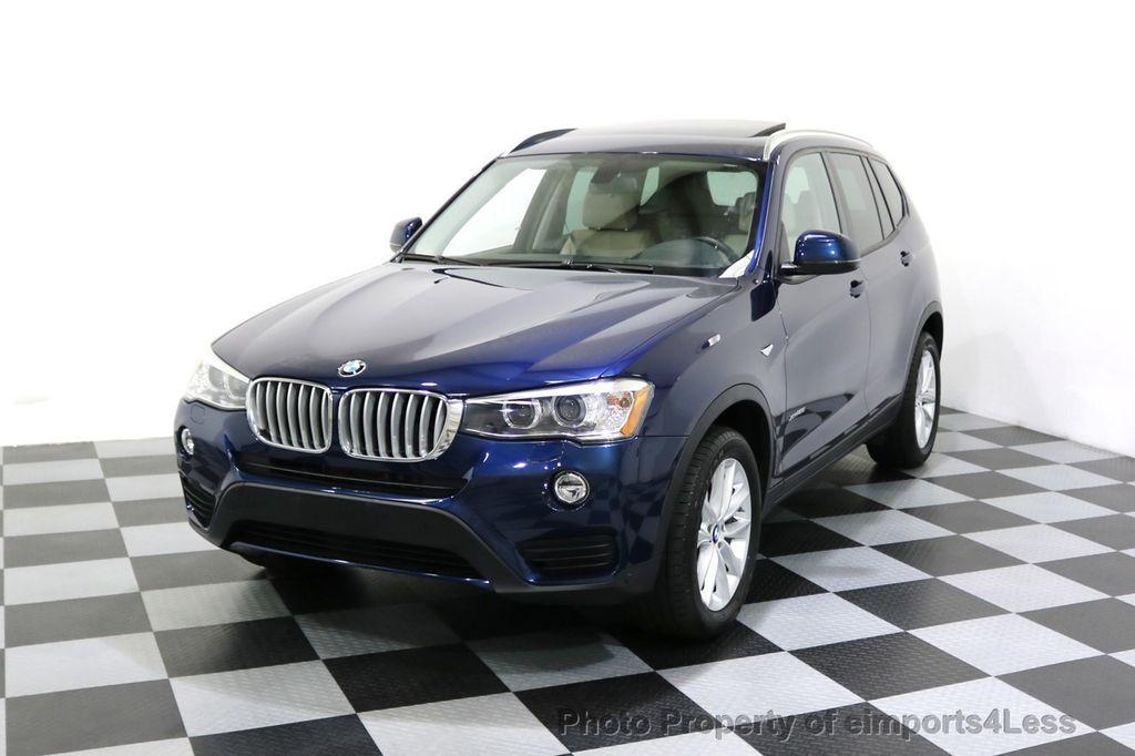 2016 BMW X3 CERTIFIED X3 xDRIVE28i AWD XENON HUD CAM NAVI - 17775873 - 0
