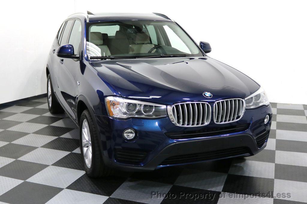 2016 BMW X3 CERTIFIED X3 xDRIVE28i AWD XENON HUD CAM NAVI - 17775873 - 15