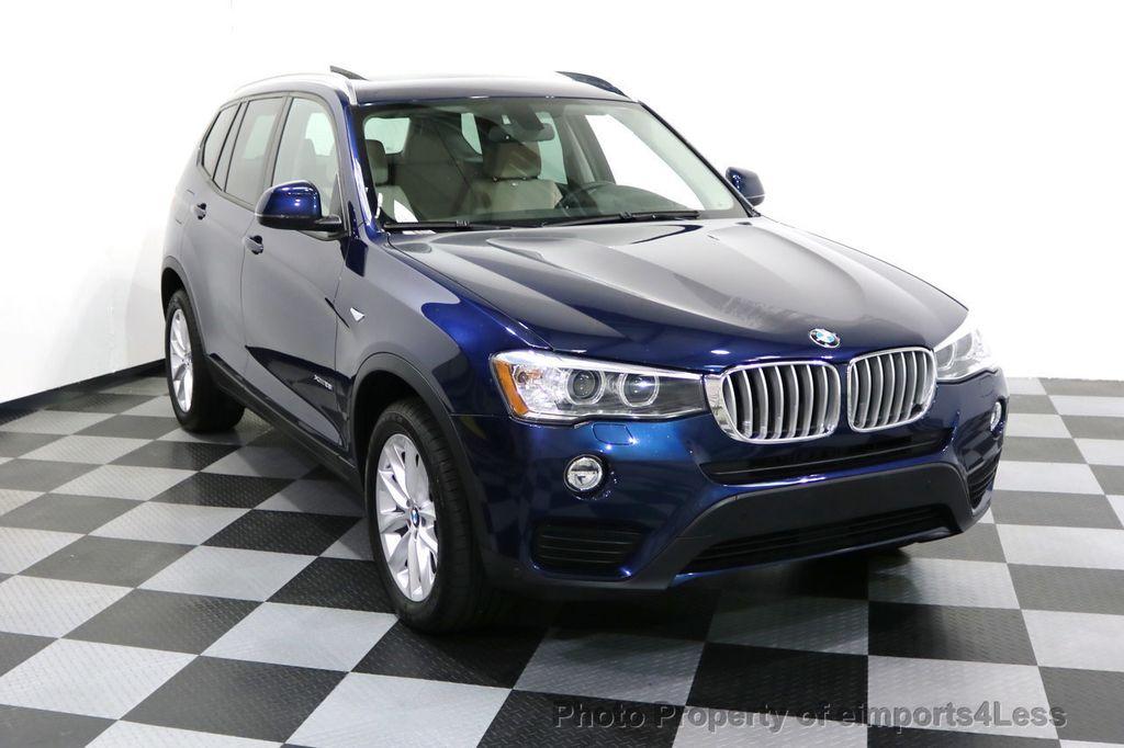 2016 BMW X3 CERTIFIED X3 xDRIVE28i AWD XENON HUD CAM NAVI - 17775873 - 1