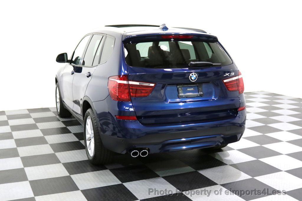 2016 BMW X3 CERTIFIED X3 xDRIVE28i AWD XENON HUD CAM NAVI - 17775873 - 30