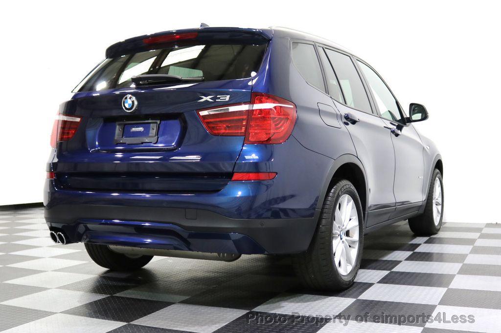 2016 BMW X3 CERTIFIED X3 xDRIVE28i AWD XENON HUD CAM NAVI - 17775873 - 32