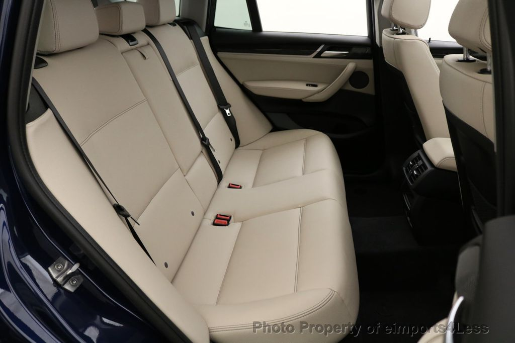 2016 BMW X3 CERTIFIED X3 xDRIVE28i AWD XENON HUD CAM NAVI - 17775873 - 37