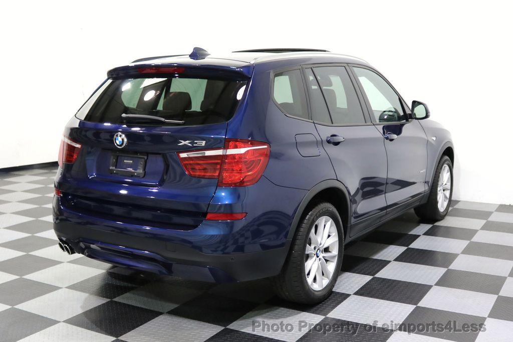 2016 BMW X3 CERTIFIED X3 xDRIVE28i AWD XENON HUD CAM NAVI - 17775873 - 3