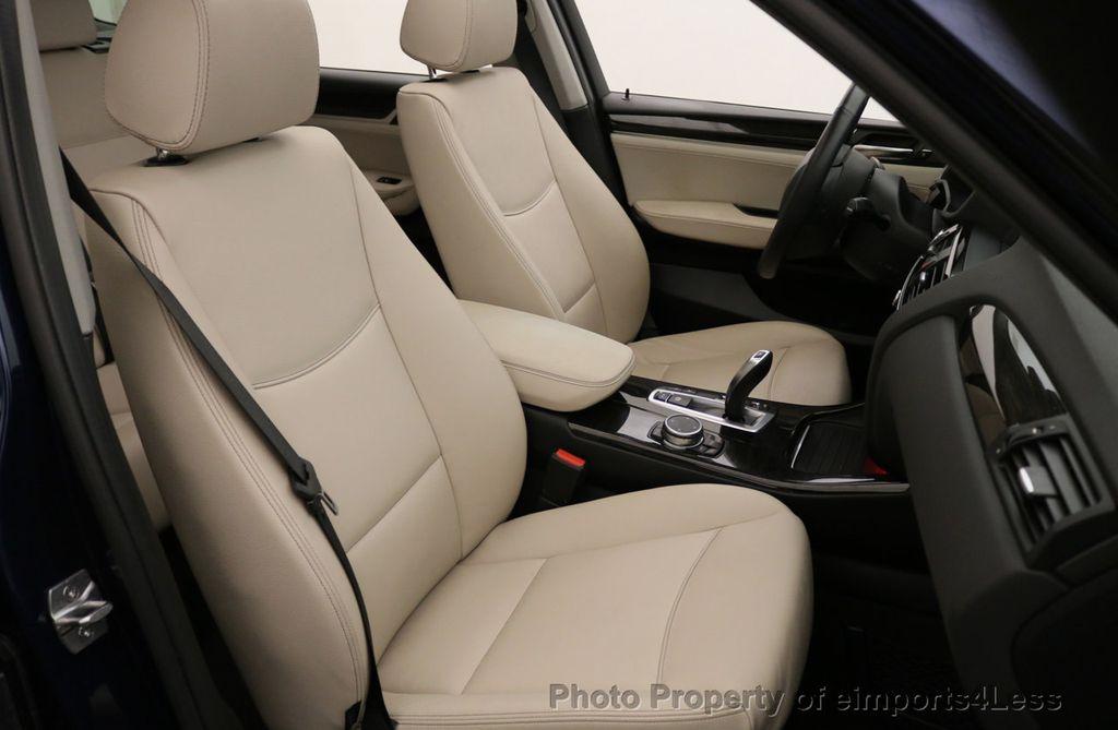 2016 BMW X3 CERTIFIED X3 xDRIVE28i AWD XENON HUD CAM NAVI - 17775873 - 39