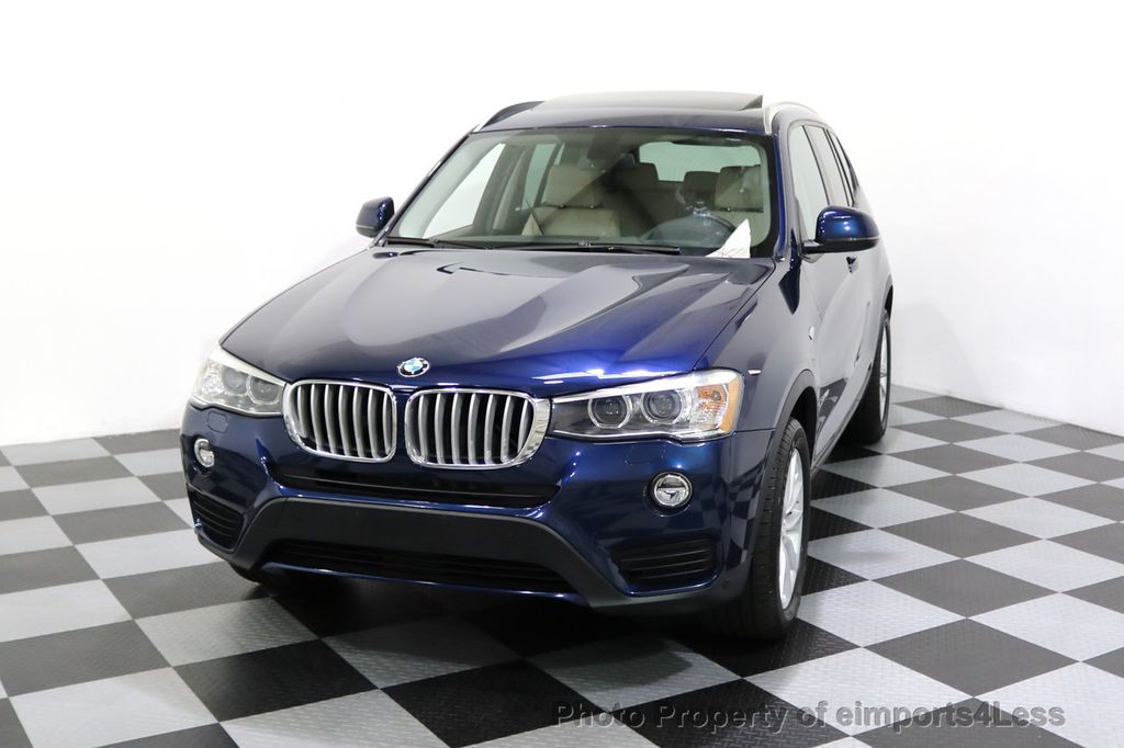 2016 BMW X3 CERTIFIED X3 xDRIVE28i AWD XENON HUD CAM NAVI - 17775873 - 44