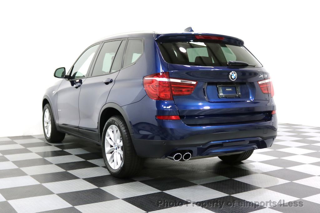 2016 BMW X3 CERTIFIED X3 xDRIVE28i AWD XENON HUD CAM NAVI - 17775873 - 46