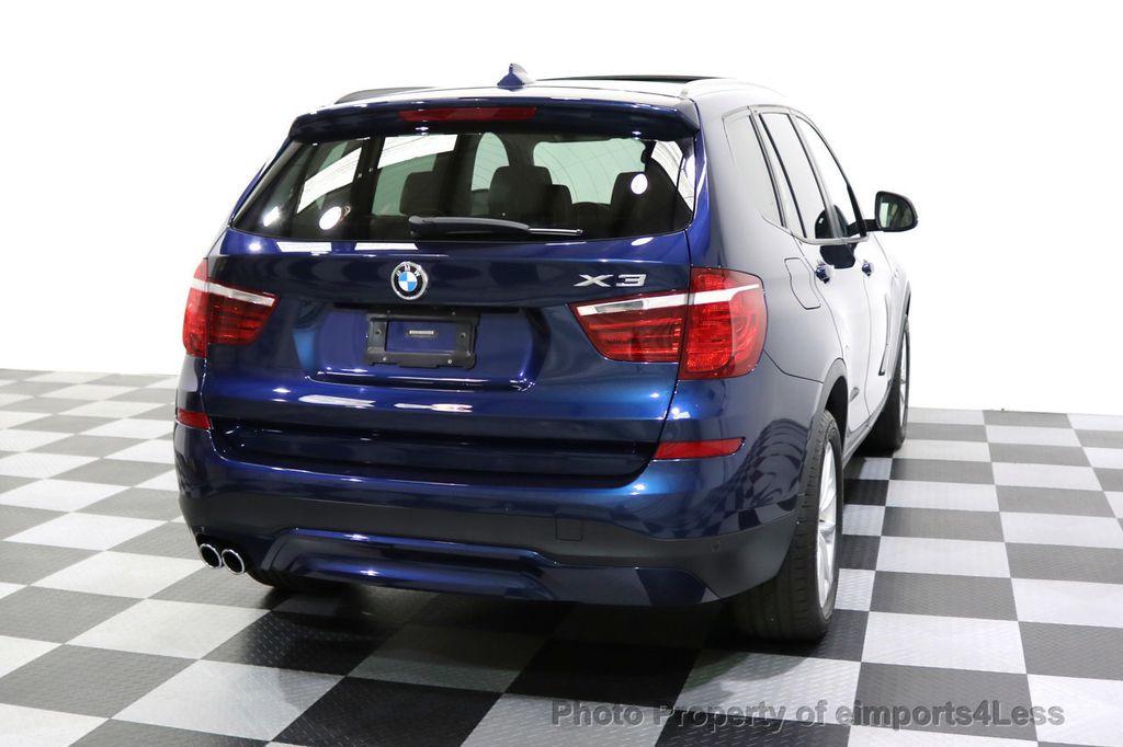 2016 BMW X3 CERTIFIED X3 xDRIVE28i AWD XENON HUD CAM NAVI - 17775873 - 47