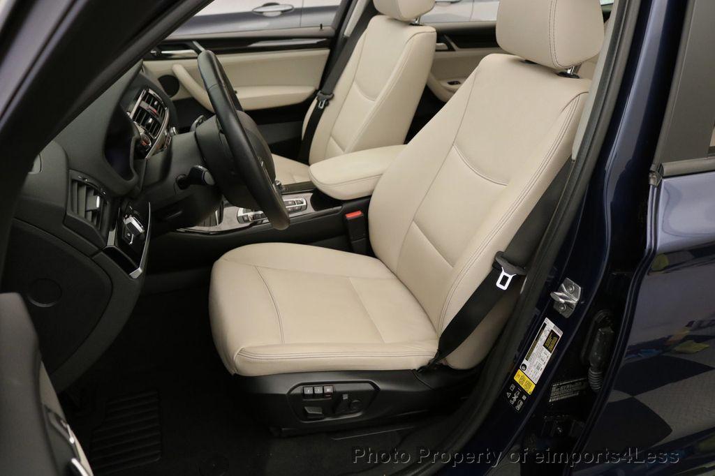 2016 BMW X3 CERTIFIED X3 xDRIVE28i AWD XENON HUD CAM NAVI - 17775873 - 48