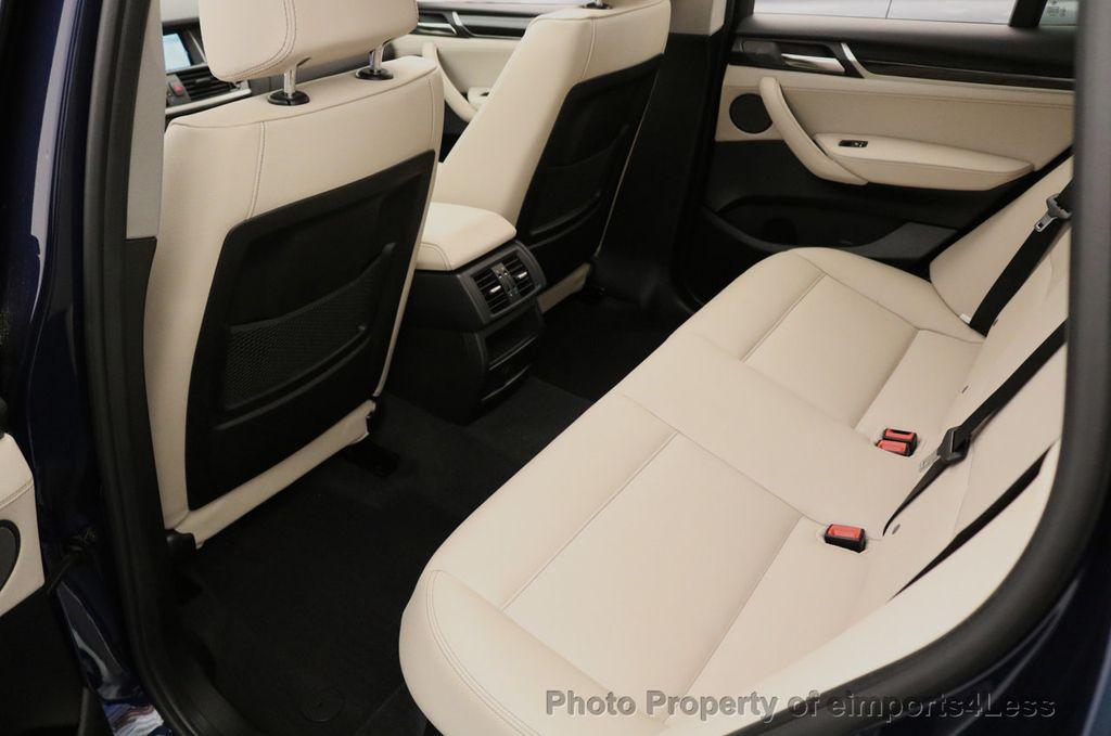 2016 BMW X3 CERTIFIED X3 xDRIVE28i AWD XENON HUD CAM NAVI - 17775873 - 50