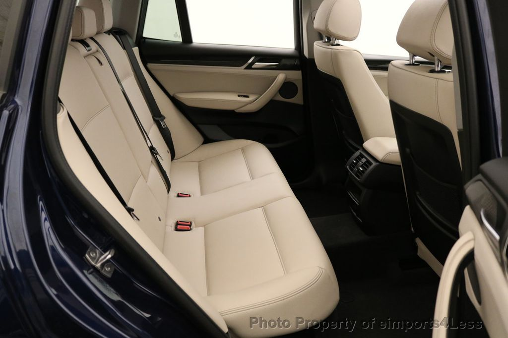 2016 BMW X3 CERTIFIED X3 xDRIVE28i AWD XENON HUD CAM NAVI - 17775873 - 51