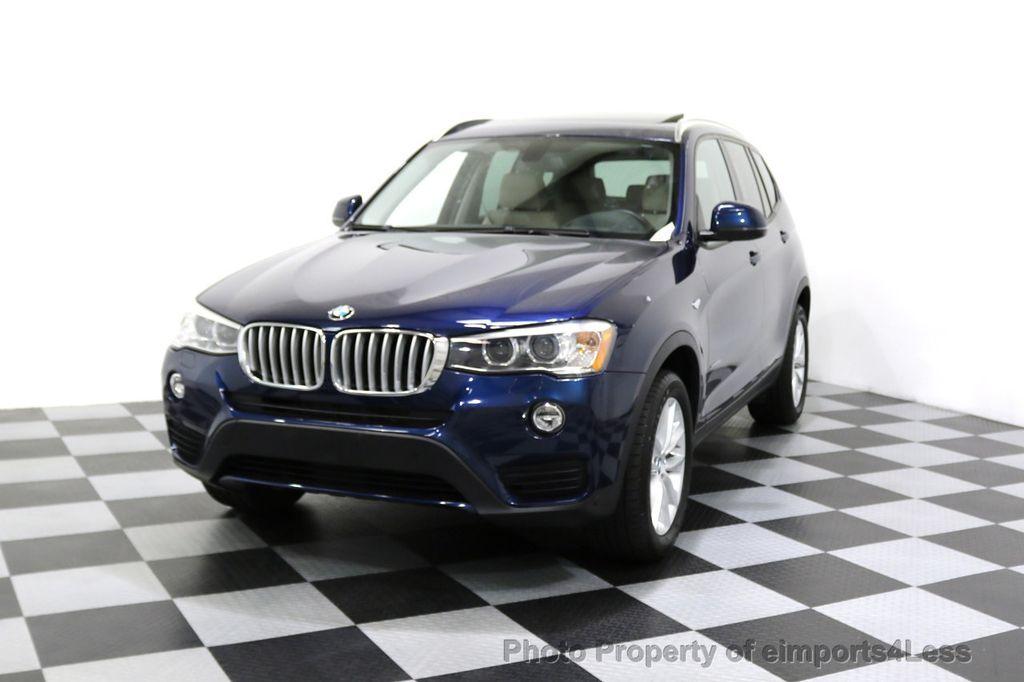 2016 BMW X3 CERTIFIED X3 xDRIVE28i AWD XENON HUD CAM NAVI - 17775873 - 52