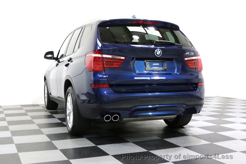 2016 BMW X3 CERTIFIED X3 xDRIVE28i AWD XENON HUD CAM NAVI - 17775873 - 53