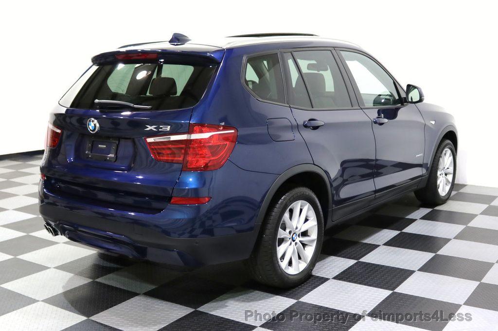 2016 BMW X3 CERTIFIED X3 xDRIVE28i AWD XENON HUD CAM NAVI - 17775873 - 54