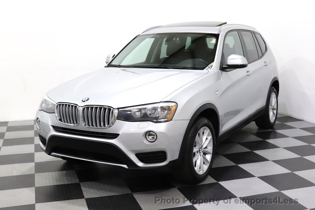 2016 BMW X3 CERTIFIED X3 xDrive28i PREMIUM AWD CAMERA NAVIGATION - 18499014 - 24