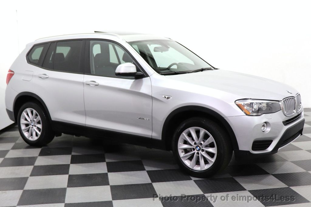 2016 BMW X3 CERTIFIED X3 xDrive28i PREMIUM AWD CAMERA NAVIGATION - 18499014 - 25