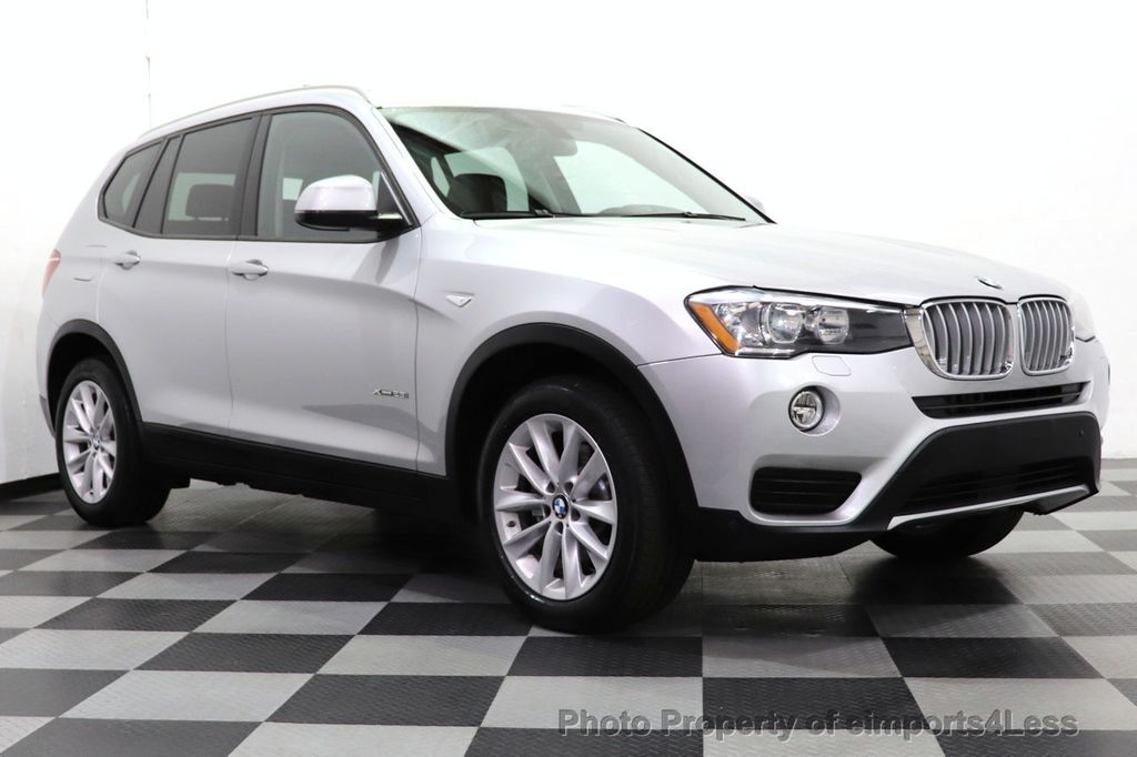 2016 BMW X3 CERTIFIED X3 xDrive28i PREMIUM AWD CAMERA NAVIGATION - 18499014 - 2