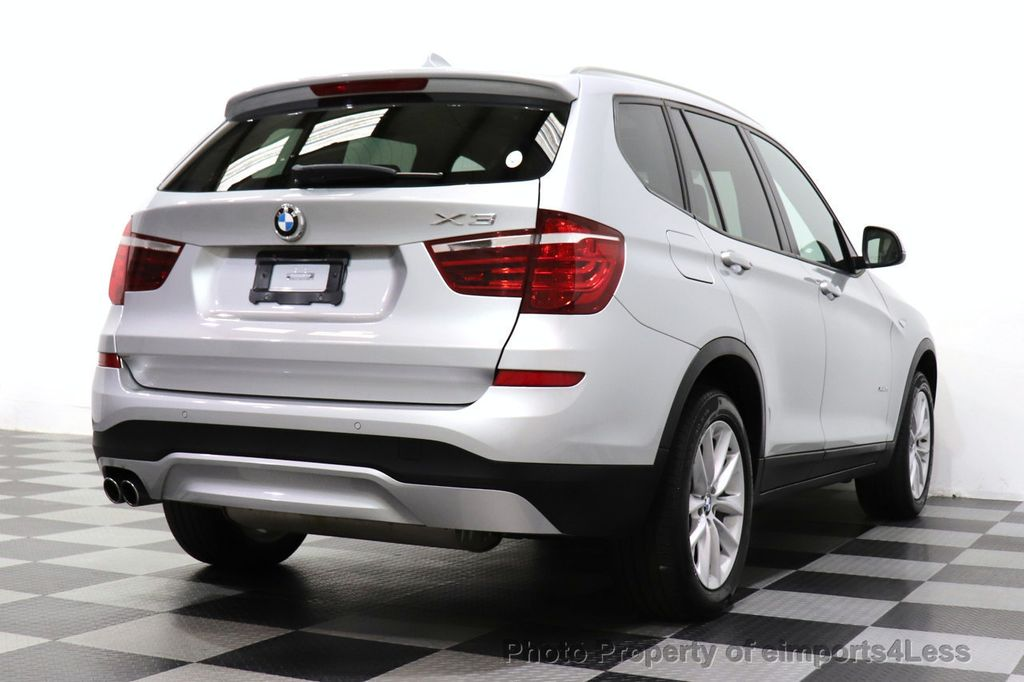 2016 BMW X3 CERTIFIED X3 xDrive28i PREMIUM AWD CAMERA NAVIGATION - 18499014 - 28