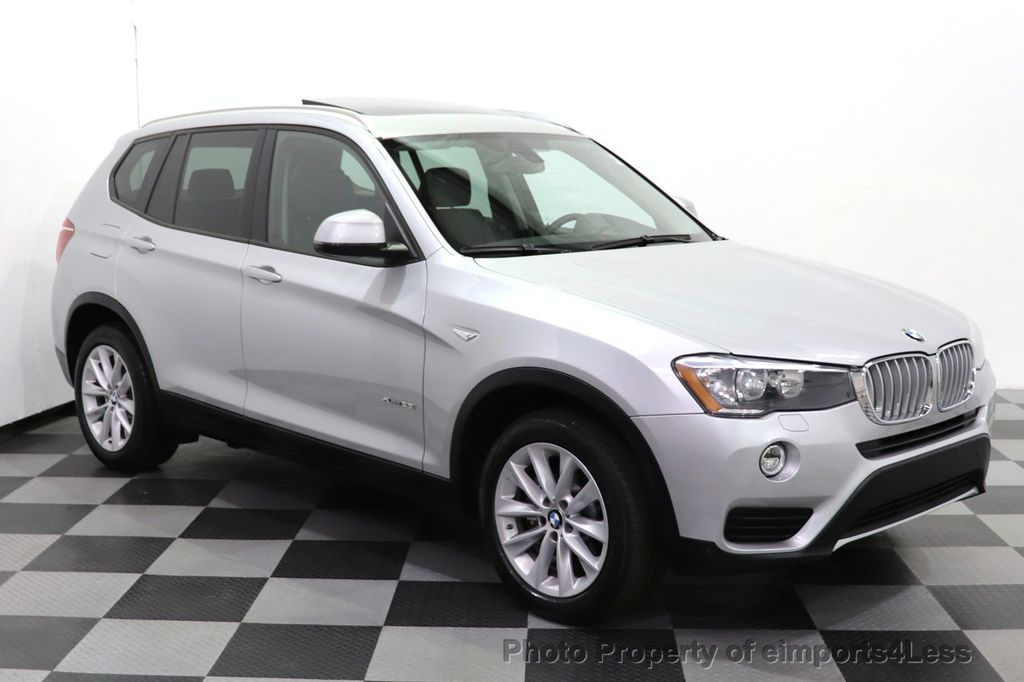 2016 BMW X3 CERTIFIED X3 xDrive28i PREMIUM AWD CAMERA NAVIGATION - 18499014 - 37