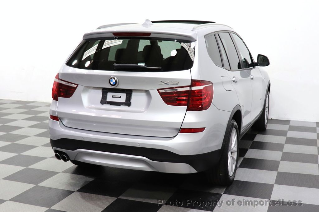 2016 BMW X3 CERTIFIED X3 xDrive28i PREMIUM AWD CAMERA NAVIGATION - 18499014 - 39