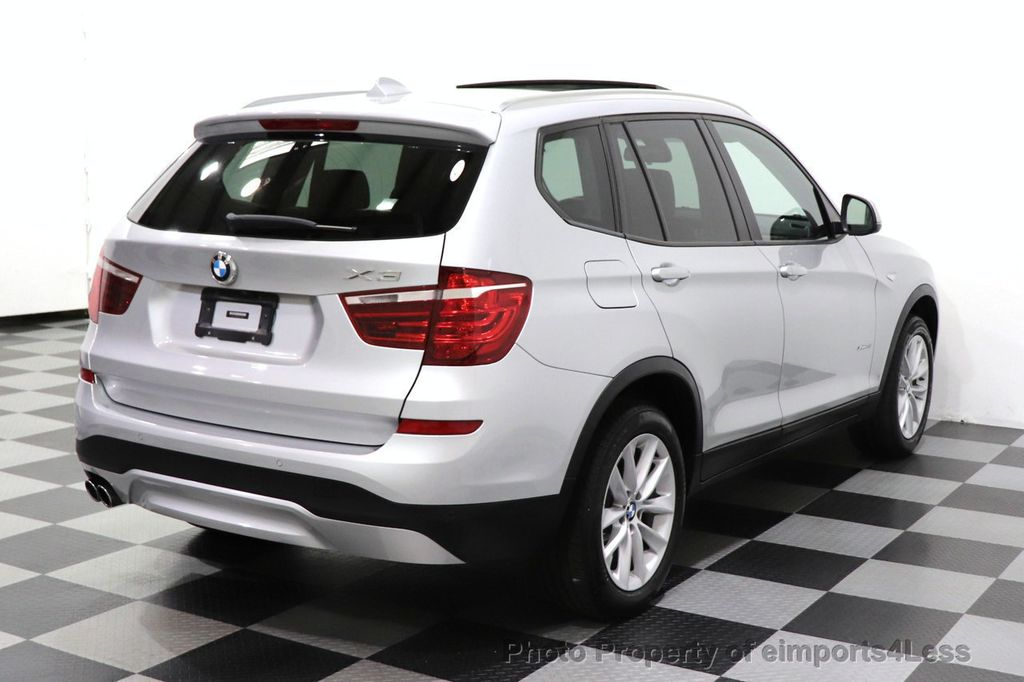 2016 BMW X3 CERTIFIED X3 xDrive28i PREMIUM AWD CAMERA NAVIGATION - 18499014 - 46