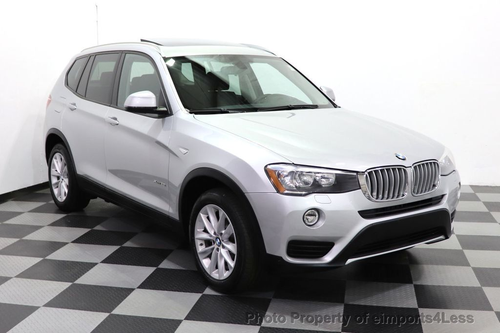 2016 BMW X3 CERTIFIED X3 xDrive28i PREMIUM AWD CAMERA NAVIGATION - 18499014 - 47