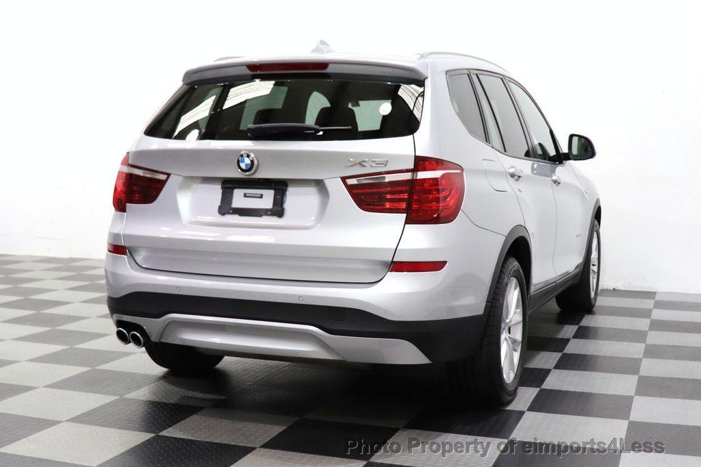 2016 BMW X3 CERTIFIED X3 xDrive28i PREMIUM AWD DRIVING ASSISTANCE PLUS - 18518151 - 27