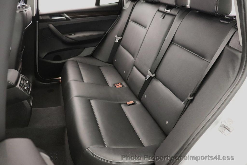 2016 BMW X3 CERTIFIED X3 xDrive28i PREMIUM AWD DRIVING ASSISTANCE PLUS - 18518151 - 31