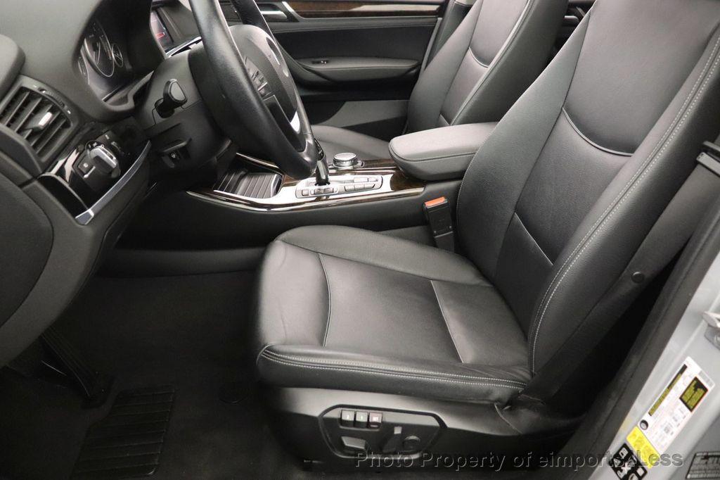 2016 BMW X3 CERTIFIED X3 xDrive28i PREMIUM AWD DRIVING ASSISTANCE PLUS - 18518151 - 33