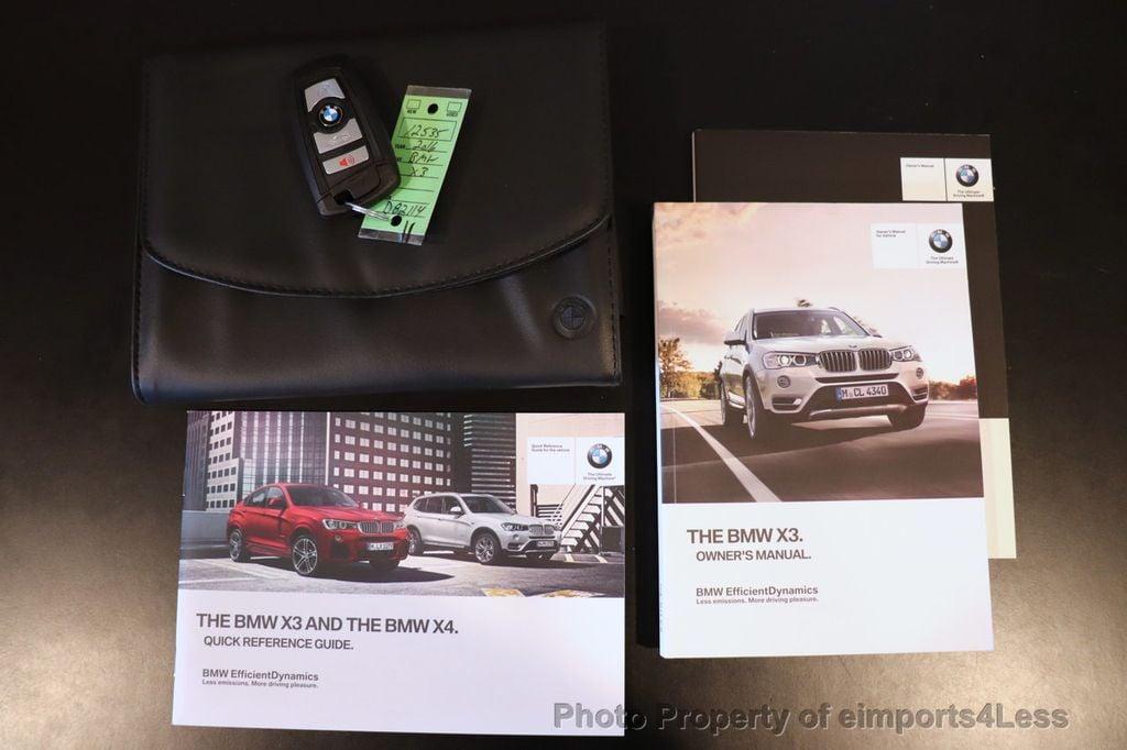 2016 BMW X3 CERTIFIED X3 xDrive28i PREMIUM AWD DRIVING ASSISTANCE PLUS - 18518151 - 35