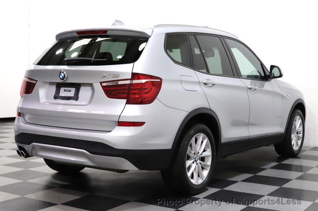2016 BMW X3 CERTIFIED X3 xDrive28i PREMIUM AWD DRIVING ASSISTANCE PLUS - 18518151 - 39