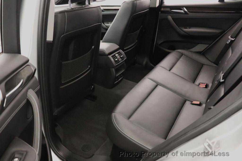 2016 BMW X3 CERTIFIED X3 xDrive28i PREMIUM AWD DRIVING ASSISTANCE PLUS - 18518151 - 42