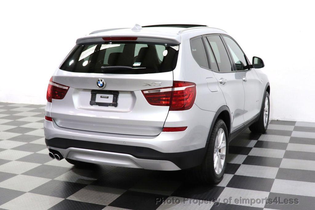 2016 BMW X3 CERTIFIED X3 xDrive28i PREMIUM AWD DRIVING ASSISTANCE PLUS - 18518151 - 46