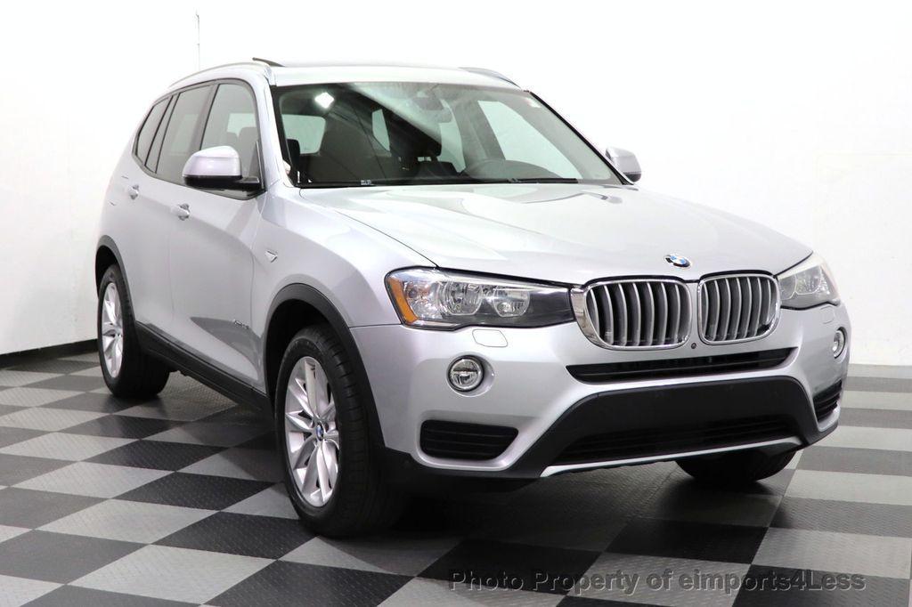 2016 BMW X3 CERTIFIED X3 xDrive28i PREMIUM AWD DRIVING ASSISTANCE PLUS - 18518151 - 47