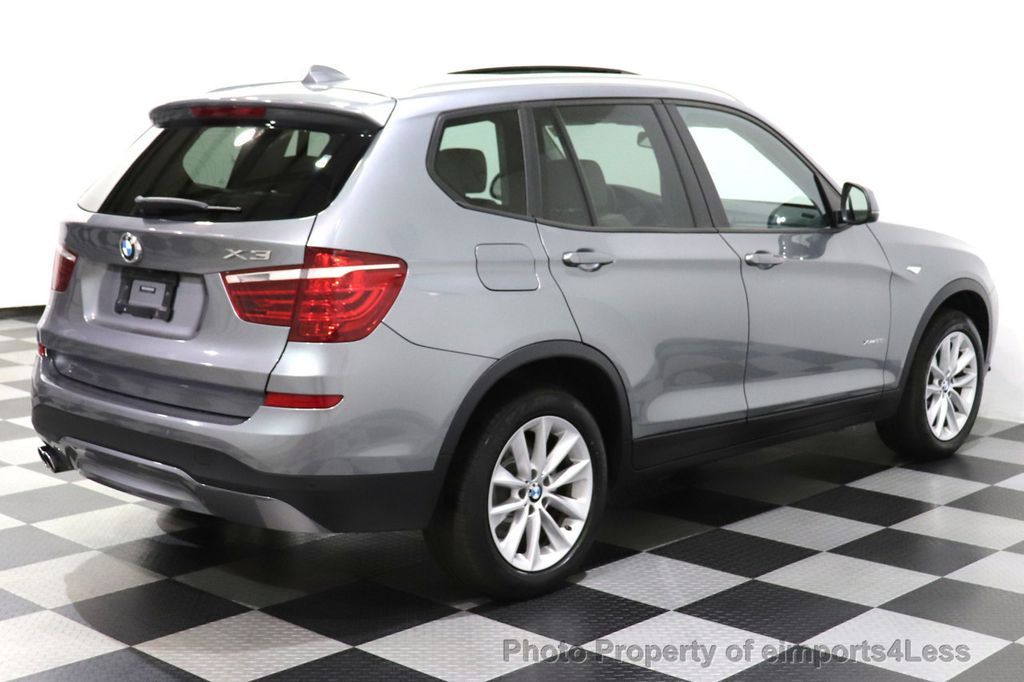 2016 BMW X3 CERTIFIED X3 xDrive28i PREMIUM PACKAGE AWD CAMERA NAV - 18518149 - 31