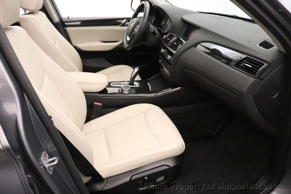 2016 BMW X3 CERTIFIED X3 xDrive28i PREMIUM PACKAGE AWD CAMERA NAV - 18518149 - 35